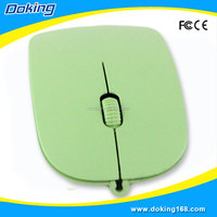 Ergonomic Design custom logo wired gaming mouse