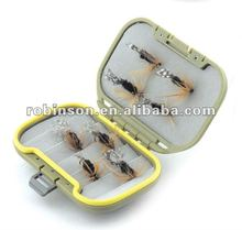 ABS/PC waterproof fly fishing tackle box