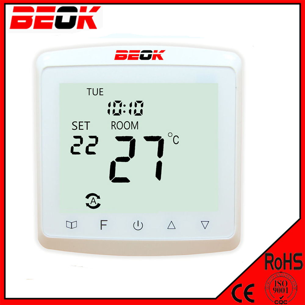 TST90-WP Large LCD Display Thermostat Radiant Heating 220V Water Heating Thermostat