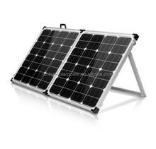 100W 120W 200w 12V sunpower folding portable solar panel kits