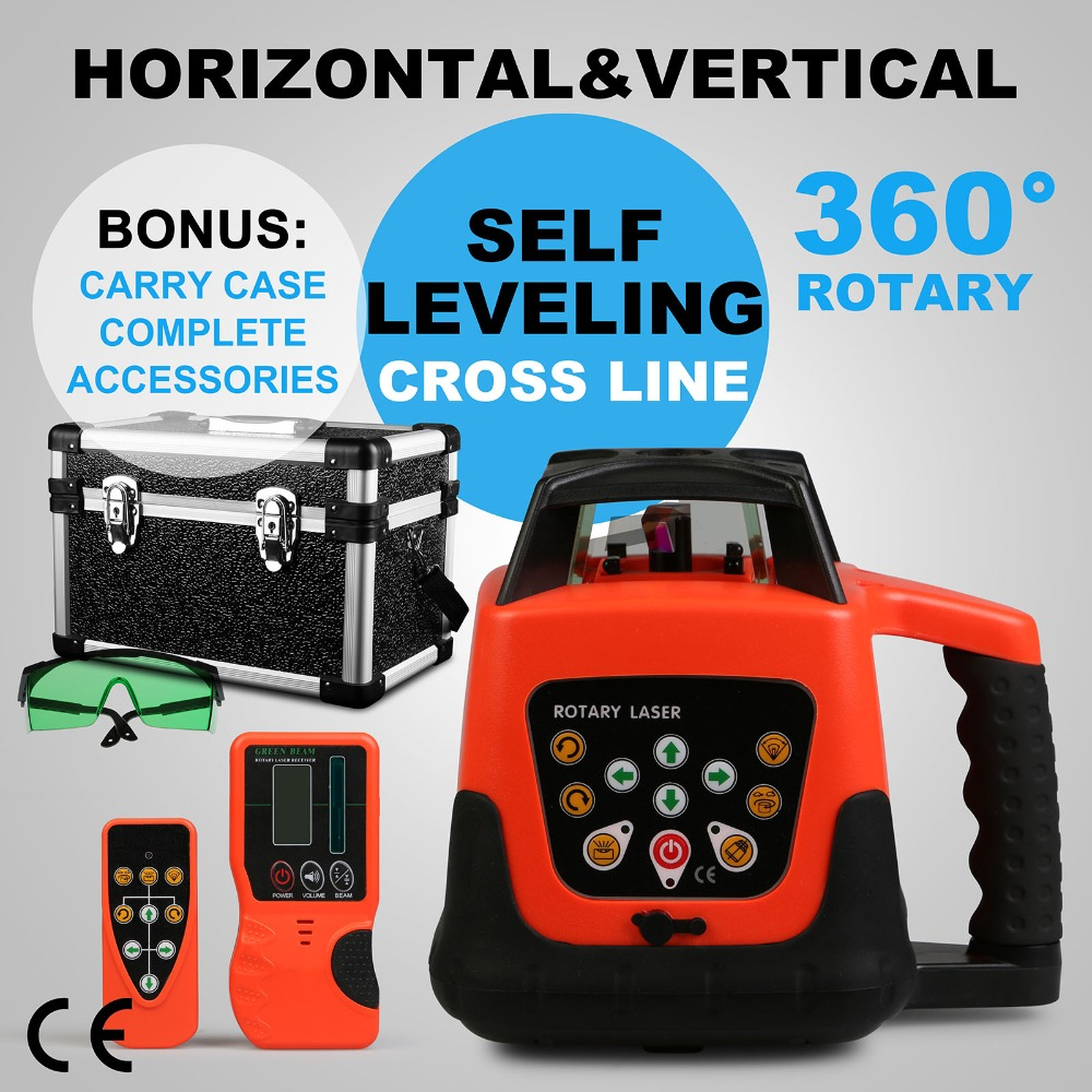 TOP SALES 500M AUTOMATIC GREEN ROTARY LASER LEVEL SELF-LEVELING CONSTRUCTION LEVELING OUTDOOR