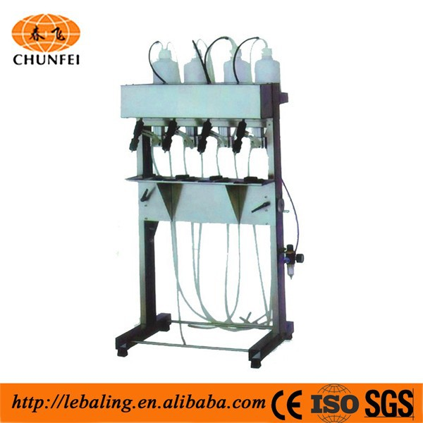 Semi-automatic vacuum filling machine for cube sugar packing machine