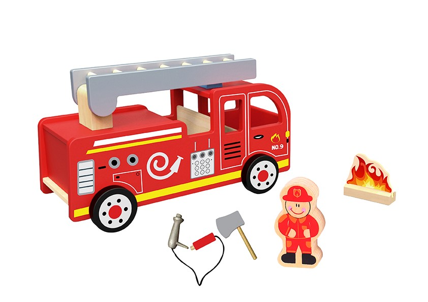 TOOKYTOY Brand Fire Truck Educational Toys for Boys
