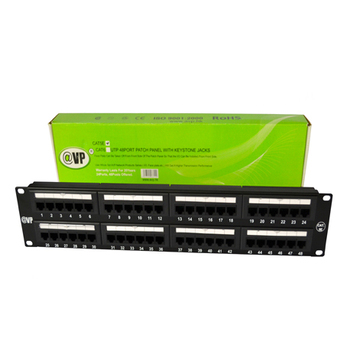 Best price cat6 cat5e utp 24 port wall mount 1u patch panel