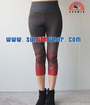 Oem manufactory custom super quality girls pants new yoga design clothes fashion girls short pants