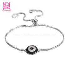 Simple design hot sale 925 sterling silver bracelets, Wholesale 925 silver chain sterling silver charm jewelry