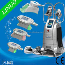 Best Effect!!! CE Approval 4 Handles Cold And Hot Cryolipolysis Fat Freeze Slim Equipment