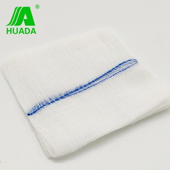 "2"" 3"" 4"" best quality unsterile 15 threads medical gauze"