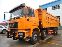 China factory shacman 30 ton 12-wheel dump truck