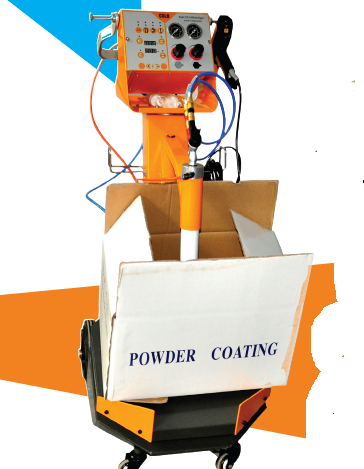 Manual intelligent powder coating system