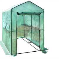 Walk-in Portable Greenhouse garden with Shelving