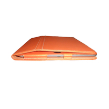 9.6-inch Orange PU Leather Tablet Case for iPad4