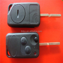 Tongda top quality 2 button folding remote key no logo factory price