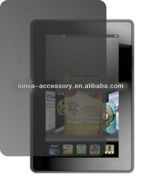 Tablet privacy screen protector/filter