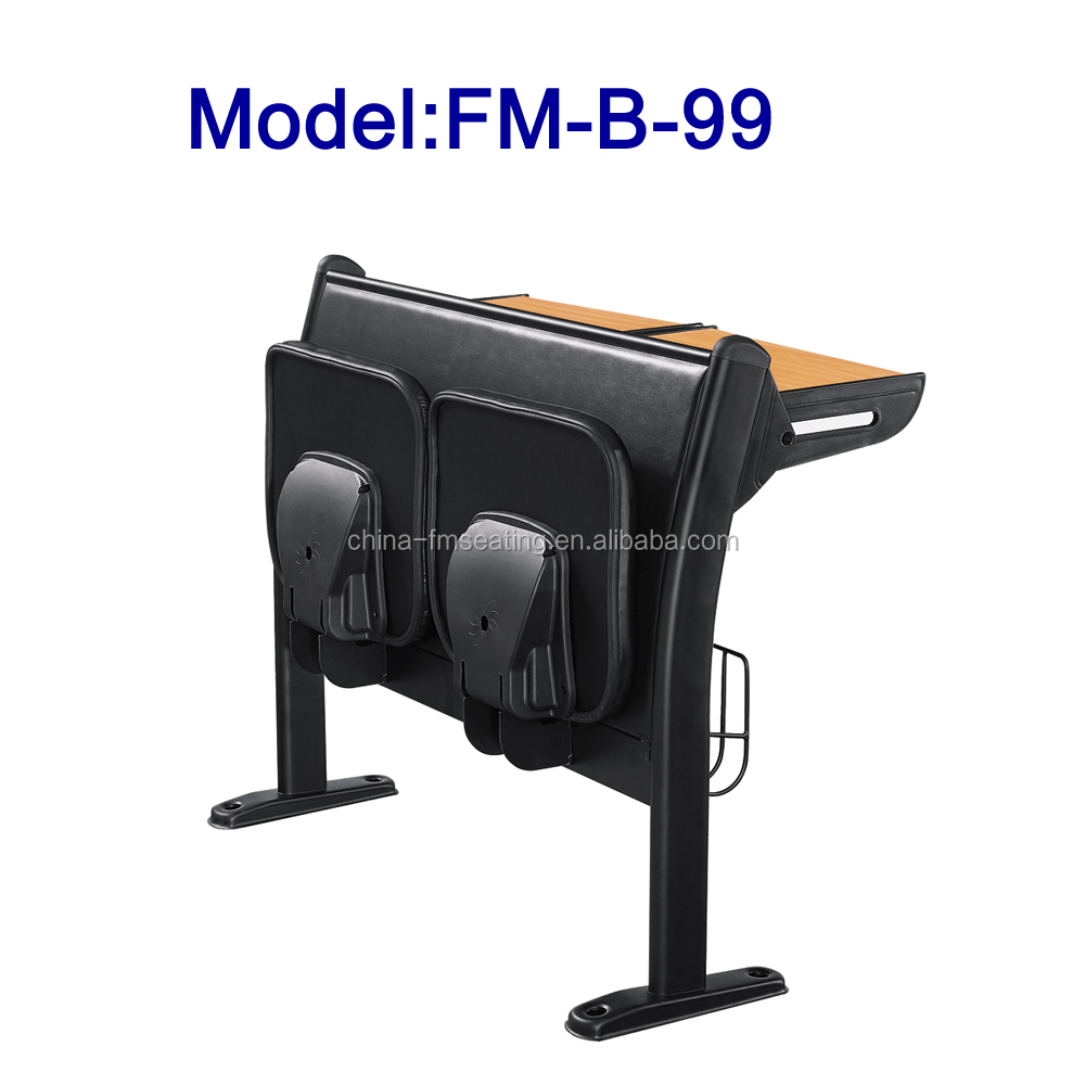FM-B-99 Attached student desk with folding seat