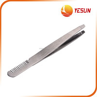 Eyebrow Clip Tweezers with Comb ,Stainless Steel Eyebrow Clip,eyebrow clip with comb