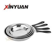 Hot sales 22/24/26/28CM Stainless steel pan cookware
