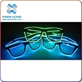 Hot sale EL sunglasses light up EL wire glasses el wire sunglasses