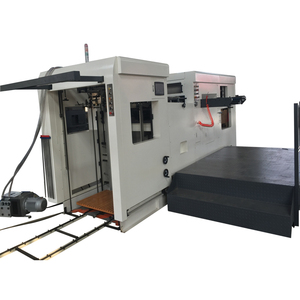 Flat Bed Automatic Die Cutting Machine For Paper Cardboard