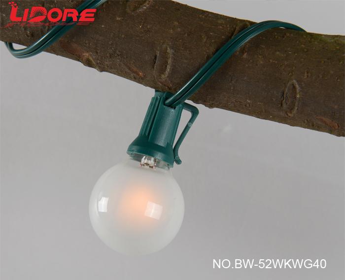 Globe String Lights China : Lidore China Supplier 25ct G40 Globe Patio String Lights - Buy China Supplier,G40 Globe Patio ...