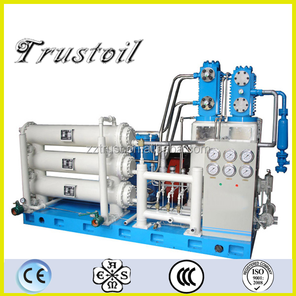 High Pressure Gas Compressor : Explosion proof grade high pressure natural gas compressor
