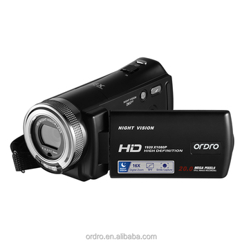 V12 OEM hd digital video camera recorder infrared cameras cheap price nigh 1080P hd video recorder DV hd digital camcorder
