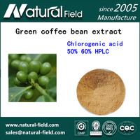 Top Quality Green Coffee Bean Extract with 10% -98% Chlorogenic Acid