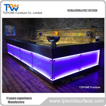 Coolest Night Club LED Light Illuminated Bar Counters
