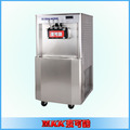 Hot sales and stable performance healthy electric soft ice cream machine with Three Flavors