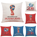 Cushion Cover Pillow Case,The 2018 Russia World Cup Home Decor Cushion Cover Soccer Pillow Covers