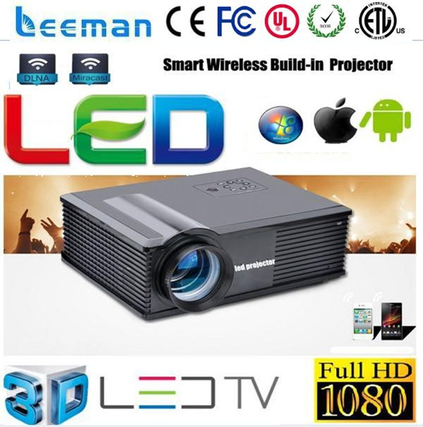 led projector 1080p hd Shenzhen Leeman 3D LED projector