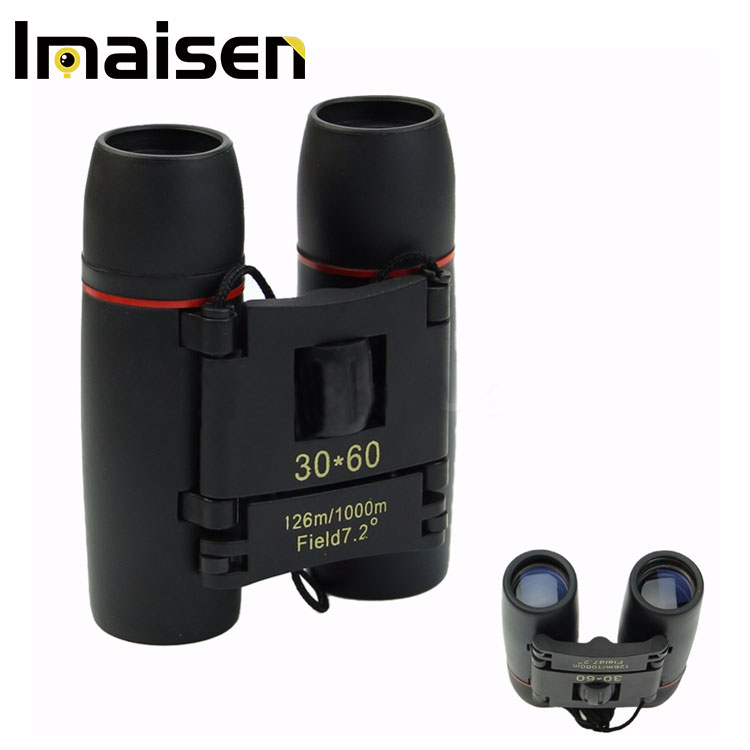 Day Night Vision 30 x 60 Zoom Outdoor Travel Folding Binoculars Telescope+Case