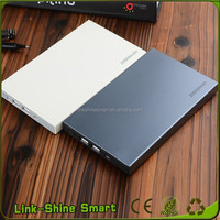 Mini Size Ultra Thin Power Bank 20000mah Portable Charger PowerBank for Ipad /tablet