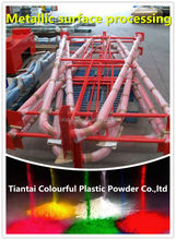Epoxy polyester Powder coating for metallic surface processing