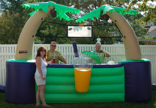 Good design outdoor inflatable bar tent, inflatable serving bar K5011