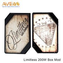 2017 Innovative Vaporizer Mod Express Smoke Eletronic Box Mod Limitless LMC 200W Box Mod From Ave40