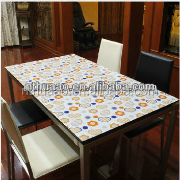 knitted laminated with siliconepu tablecloth transparent pvc sheet, artificila flowers, artificial flowers