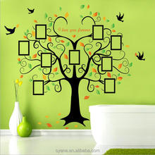 New Hot photo frame memory family tree wall decor 3d wallpaper for home decoration pvc removable family tree wall sticker decal