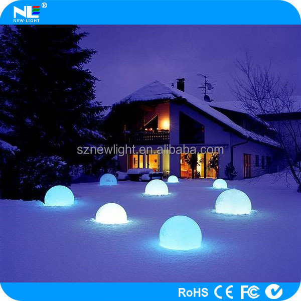 Alibaba China cheap lighting up waterproof floating led lighting ball/led ball light /led swimming pool ball