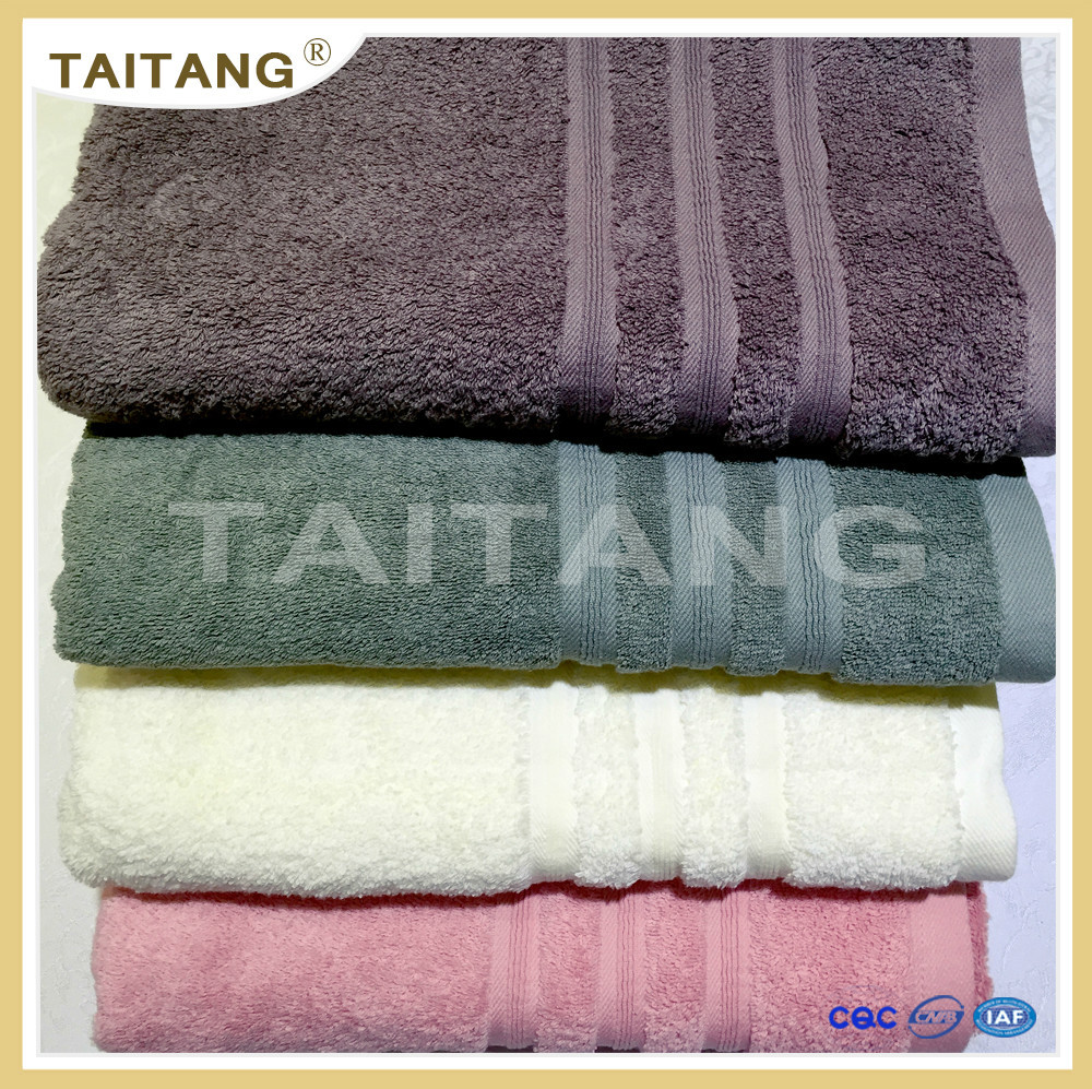 2017 best sell fully cotton good quality best price face towel folding