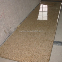 G682 golden sand granite kitchen counter tops for cabinets