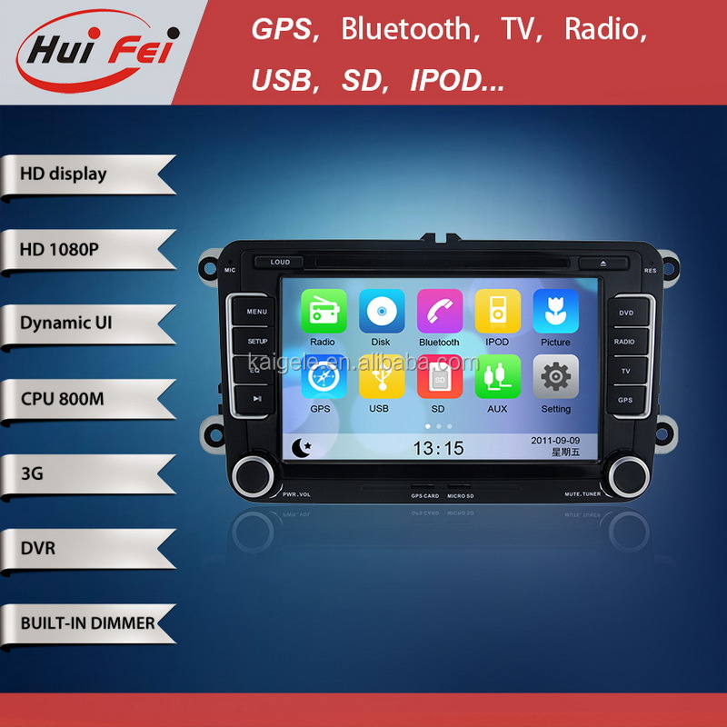 huifei Wince car GPS Navigation with steering wheel control,3G,Wifi for VW Scirocco(2008-2011),Golf 5(MK5)2005-2009 ,Golf 6(MK6)