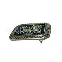 Promotional Metal Belt Buckle with Customized Logos