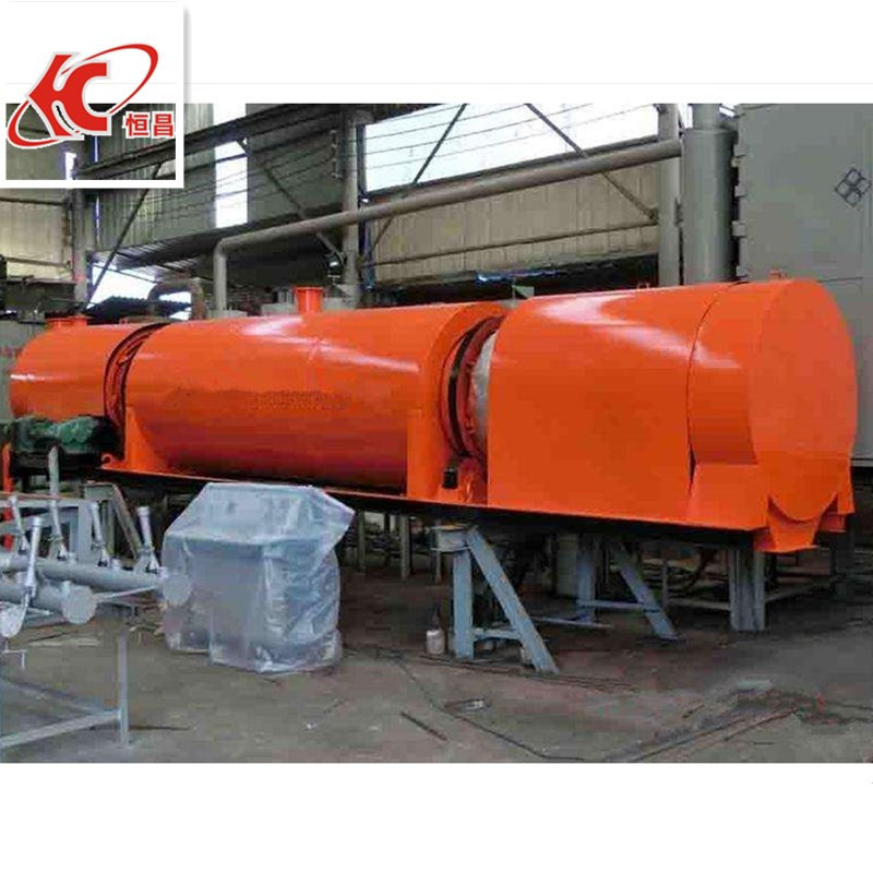 charcoal powder making machine / continuous carbonization furnace