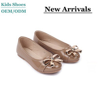Wholesale soft pu lined leather dress shoes kids clothes and shoes