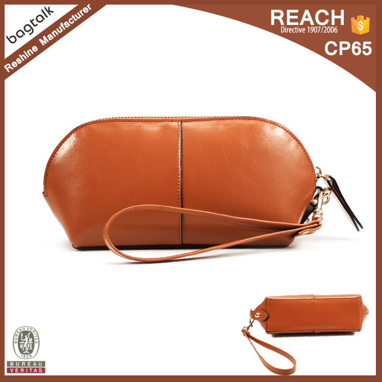2016 Tanned Women's Cheap PU Leather Purse
