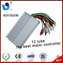 60V/500W the best BLDC motor controller for 3 wheel electric bicycle/electric bike 12 tube