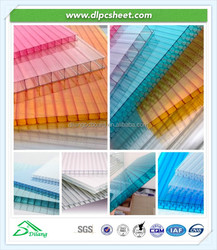 Sun greenhouse china rooring polycarbonate used solar panel
