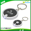 Winho simple round led keychain extralarge