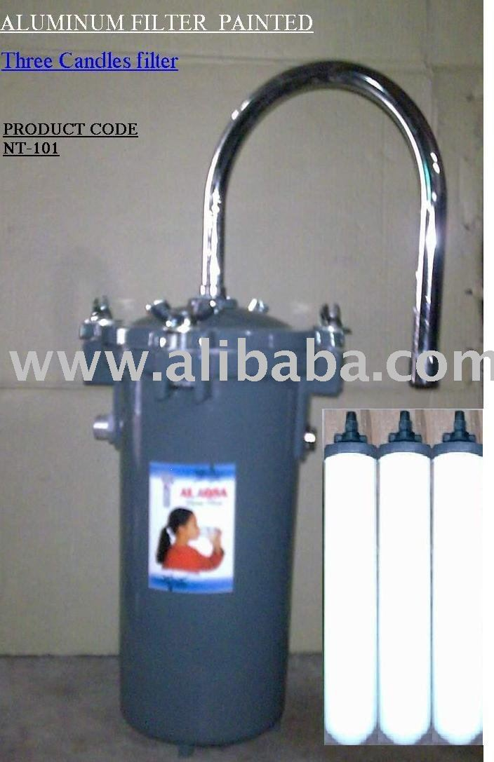 "WATER FILTER ""BIG SIZE"" for Drinking Water. ""BIG SIZE"" three catriadge use (NT-109)"